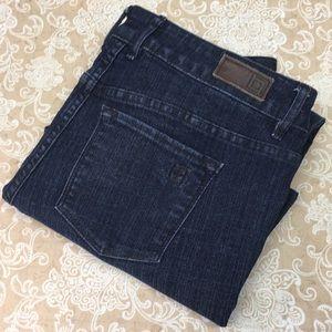 Liz Claiborne Ankle Crop Jeans
